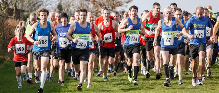 Runners at the Blackmore Vale half marathon